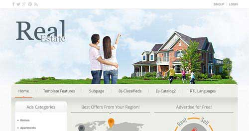 14 best real estate joomla templates 2018 jooexplorer
