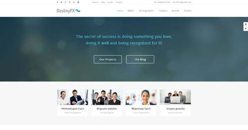 DestinyFX - Business Joomla Templates