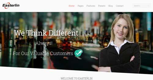 Easterlin - Responsive Business Joomla Templates