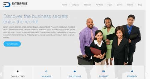 Enterprise - Responsive Business Joomla Templates