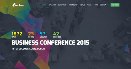 15 best event joomla templates 2018 jooexplorer eventum joomla template maxwellsz