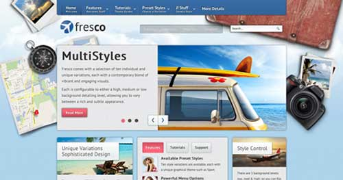Fresco - Hotel & Travel Joomla Templates