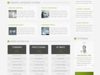 GreenHost Joomla Theme