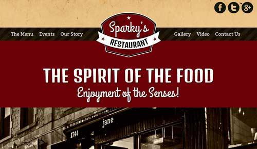 Hot Food Spirit - Restaurant Joomla Templates