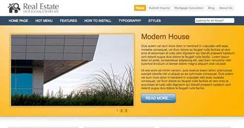 Hot Real Estate - Real Estate Joomla Templates