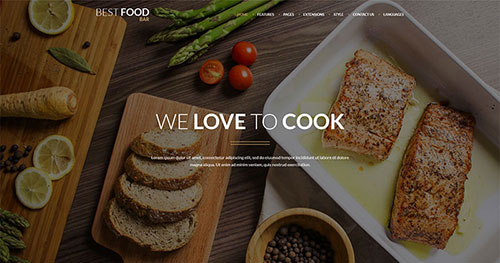 JM Best Food Bar Joomla Theme