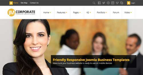 JM Corporate - Responsive Business Joomla Templates