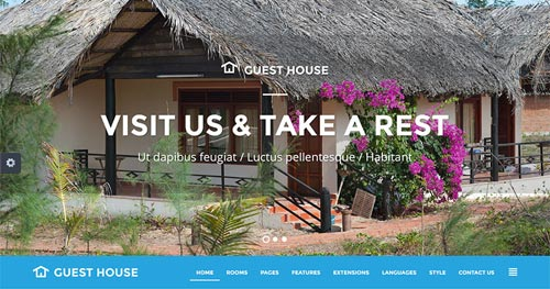 JM Guest House Joomla Theme