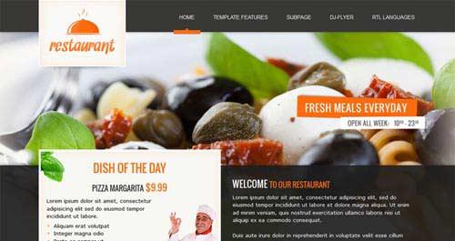 JM-Italian-Restaurant - Restaurant Joomla Templates