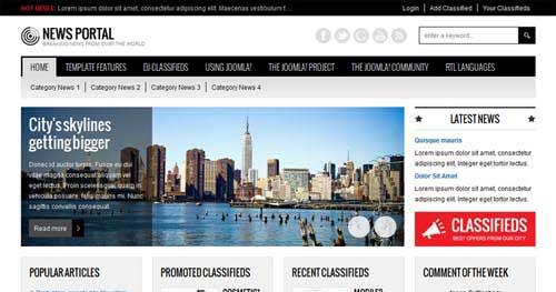 JM-News-Portal - Classified Joomla Templates