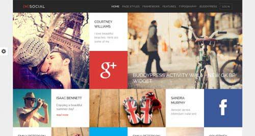 M Social - Metro-Style Joomla Templates