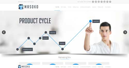 Masoko - Responsive Business Joomla Templates