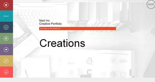 NEXT - Metro-Style Joomla Templates