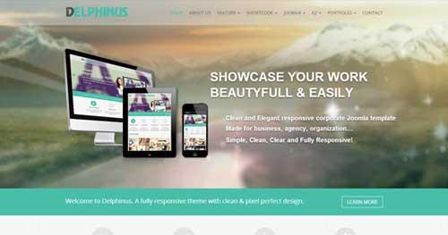NOO Delphinus - Responsive Business Joomla Templates