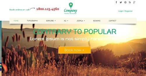 Noo Travel - Hotel & Travel Joomla Templates