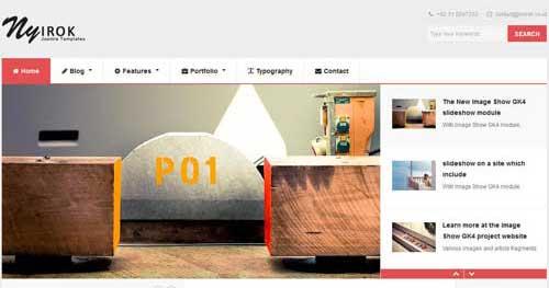 Nyirok - Responsive Business Joomla Templates