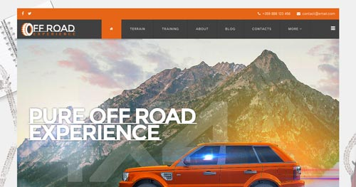 Off Road Joomla Theme