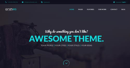 Orches Joomla Theme