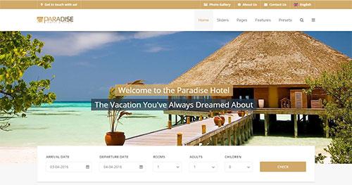 Paradise Joomla Theme