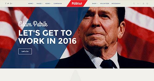 Politist Joomla Theme
