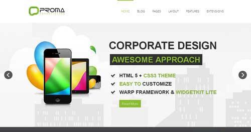 Proma - Responsive Business Joomla Templates