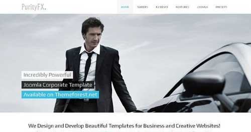 PurityFX - Responsive Business Joomla Templates