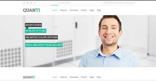 Quanti - Business Joomla Templates