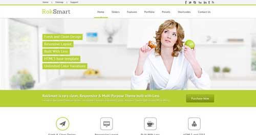 RokSmart - Responsive Business Joomla Templates
