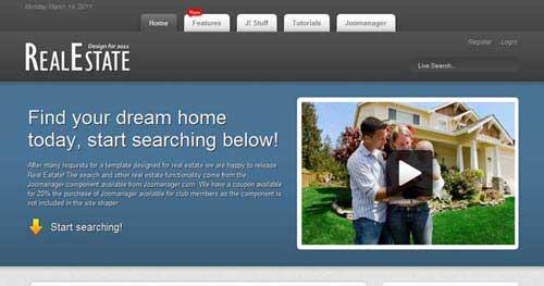 Shape5 Real Estate - Real Estate Joomla Templates