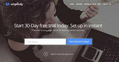 Simplicity - Responsive Business Joomla Templates