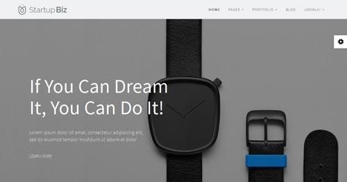 Startup Biz Joomla Theme