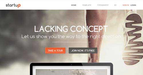 Startup - Responsive Business Joomla Templates