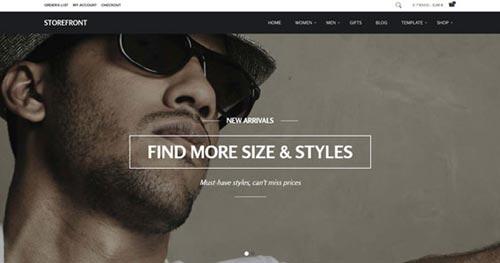 Storefront - Ecommerce Joomla Templates