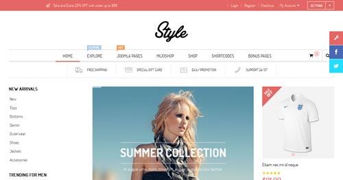 Style Joomla Theme