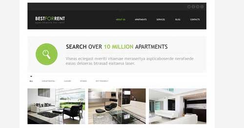 TM Best Rent - Real Estate Joomla Templates