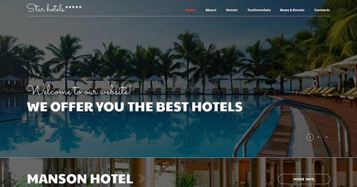 TM StarHotels Joomla Theme