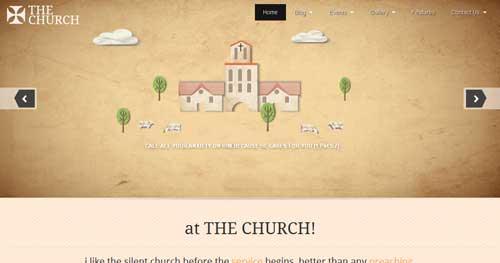 The Church - Church Joomla Templates