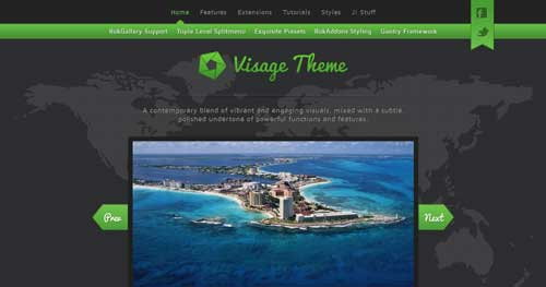 Visage - Hotel & Travel Joomla Templates