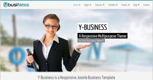 YbusiNess - Responsive Business Joomla Templates