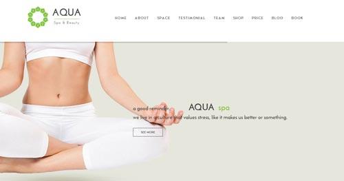 Aqua Joomla Theme