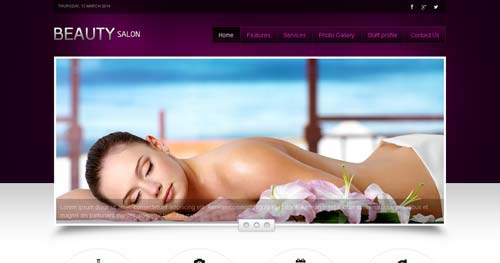 Beauty Salon - Spa & Salon Joomla Templates