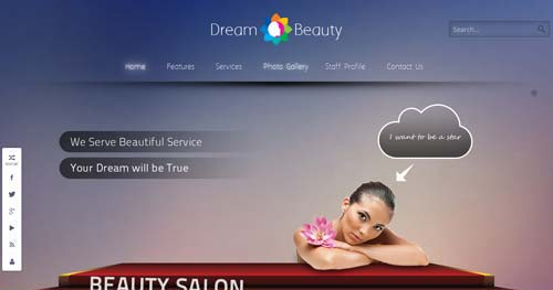 Dream - Spa & Salon Joomla Templates