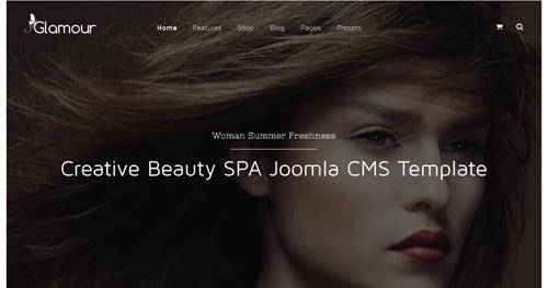 Glamour Joomla Theme