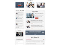 HOT Politics Joomla Theme