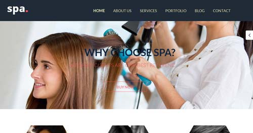 SPA - Spa & Salon Joomla Templates