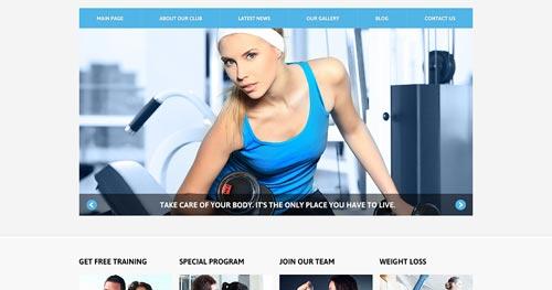 TM Fitness Line - Fitness Joomla Templates