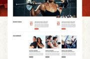 TM Gym Joomla Theme