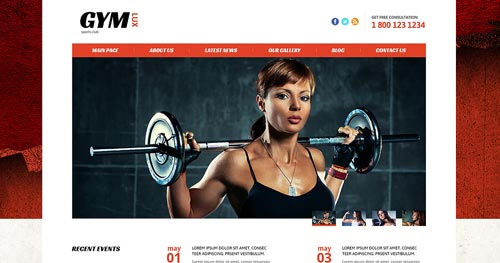 TM Gym - Fitness Joomla Templates