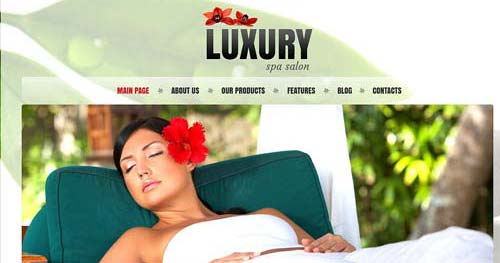 TM Luxury - Spa & Salon Joomla Templates