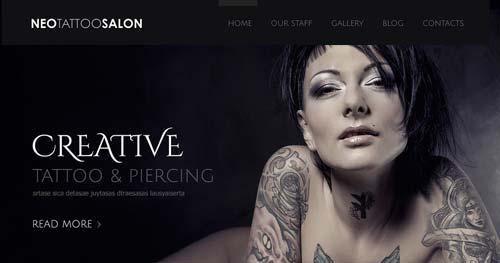 TM Neo Tattoo - Spa & Salon Joomla Templates